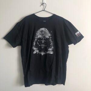 Star Wars Identities Exhibition Darth Vader T-Shirt Black Size XXL