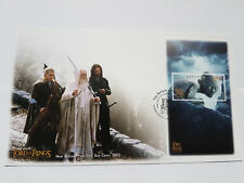 NEW ZEALAND Lord of the Rings Return Of The King Mini Sheet Stamps FDC set of 6