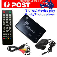 Mini Full HD 1080p Media Player Center with HDMI/VGA/AV/MMC/Optical Blu-ray DVD