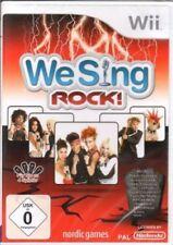 We sing rock-Nintendo Wii-germano-nuevo/en el embalaje original