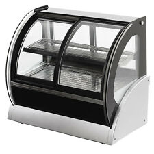 """Vollrath 40880 36"""" Curved Glass Cooler Display Case w/ Front & Rear Access"""