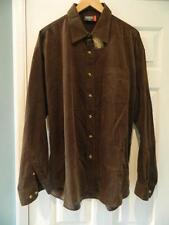 Grunge Corduroy Vintage Casual Shirts & Tops for Men