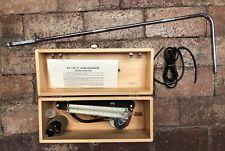 Vintage Micro-Manometer/Air Pressure Meter Type C- E. Vernon Hill-w/Box