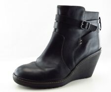 Sofft Fashion Boots Ankle Black Leather Women Sz 8.5