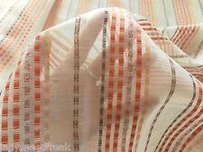 Harlequin Curtain Fabric Sirocco 5.3m X 3.0m Decorative Sheer Coloured Stripe