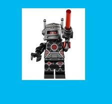 Series 8 Lego Sealed Evil Robot Ray Gun Laser Space Police Black Minifigure 8833