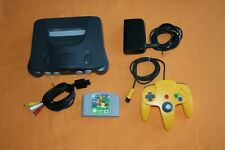 Nintendo 64 + Super Mario 64 inkl Controller und Zubehör