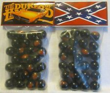 2 Bags Of The Dukes Of Hazard General Lee Car & Flag TV Show Promo Marbles