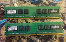 2 - Kingston PC2-6400 512 MB DIMM 800 MHz DDR2 SDRAM Memory (KVR800D2N5K2/1G)