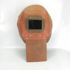 Vintage Welding Mask Shield Hood Helmet Cardboard Great Decoration Steampunk #66