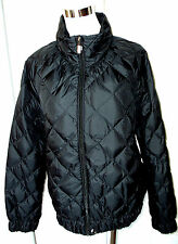 NEW! POLO RALPH LAUREN BLACK QUILTED DOWN PUFFER JACKET COAT WOMENS SIZE XL $325
