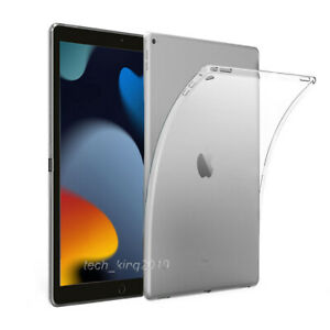 """For Apple iPad  9th Gen (2021) 10.2"""" Crystal Clear Case Cover Silicone Back"""
