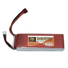 Zeee 7000mah 14.8v Deans 4s 100c Lipo Battery for RC Truck Car Helicopter Buggy