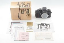 【Brand New! Final model S/N852XXXX】 Nikon F3/T F3T HP Black 35mm SLR From JAPAN