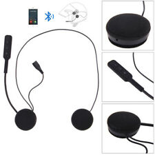 Motorcycle Phone Wireless Bluetooth Hands-free Helmet Music Player Mic Headphone