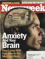 Newsweek Mag Anxiety And Your Brain February 24, 2003 102219nonr