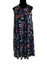 LAST ONE Size 18 Beautiful SUMMER SUNDRESS Butterfly Print Midi Swing Dress
