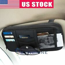 Auto Interior Sun Visor Organizer Accessories Car Pocket Organizer Truck Storage