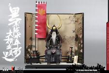 1/6 Black Japan Samurai Buffalo Armor Legend Series OF EMPIRES COOMODEL SE031
