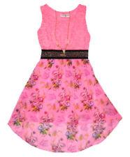 Robes rose sans manches pour fille de 8 à 9 ans