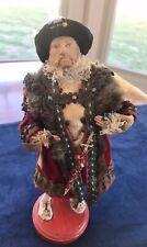 Rare Vintage King Henry Viii Devereux Dolls Handmade In England