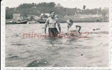 Foto, Lauenburg, Sommerferien, in der Elbe, Nude, 1934; 5026-124