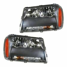 FIT FOR 2006 2007 2008 2009 CHEVROLET TRAILBLZER LT HEADLIGHTS RIGHT & LEFT PAIR