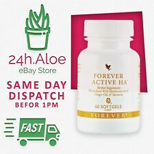 Forever Living Active HA Formulated with Ginger Oil & Turmeric 60 Softgels