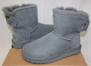 UGG Women's Arielle Geyser Grey Suede boots New With Box!