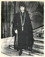 Opera - Autografo del tenore Franco Tagliavini (Novellara, 1934 - 2010)