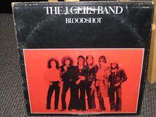 The J. Geils Band- Bloodshot- OOP 1973 Atlantic Rec. SD7260. LP VG+ EX
