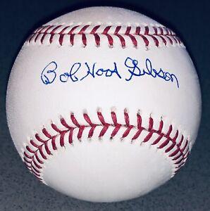 "Bob ""Hoot"" Gibson signed St. Louis Cardinals autographed nickname baseball JSA"