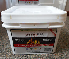 Wise Fire 2 Gallon Fuel Emergency Fire Starter 25 Yr Shelf Life Camping Preppers