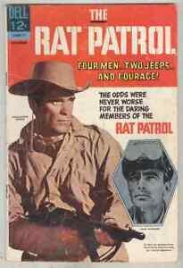 Rat Patrol #5 November 1967 G/VG