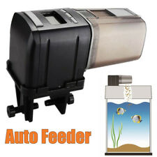 Auto Fish Feeder Aquarium Food Automatic Timer Feeding Dispenser Adjustable