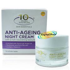 Derma V10 Anti Ageing Skin Care Daily Night Facial Face Cream 50ml