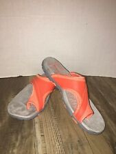 Merrell Sandspur Delta Slide Womens Tigerlilly/Melo Sandals 6 M
