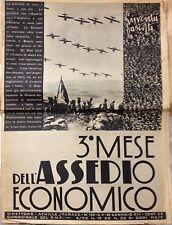 GIUVENTU' FASCISTA 30 GENNAIO XIV QUIDICINALE DEL P.N.F. GRANDI ARGOMENTI E FOTO
