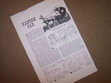 horse drawn hansom cab   model plan