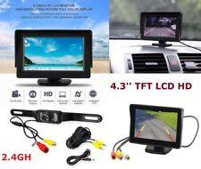 "Wireless Car Backup Camera Rear View System w/ Night Vision+4.3"" TFT LCD Monitor"