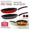 Safe Stainless Steel Non Stick Safe Cooking Round Frying Pan Frypan Skillet