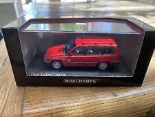 1:43 Minichamps Opel Kadett Caravan 1989 - 400 045910 - Red - New