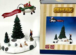 Lemax Modern Santa Animated Christmas Village Accessory 54925