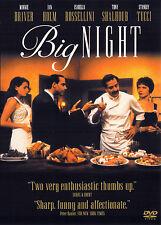 BIG NIGHT (DVD, 1998) - NEW RARE DVD