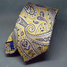 Polifroni Men's  necktie 100% Silk Made in Canada