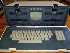 Osborne 1 Home Computer Serial # 011472 with ORIGINAL Software & Purchase Docs
