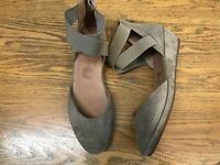 GENTLE SOULS NOA LEATHER D'ORSAY DEMI WEDGE SHOES NWOB SIZE 6.5