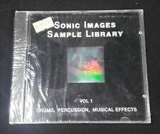 Sonic Sample Images Volume 1 Sampling CD NEU