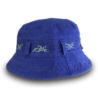 Black Salamander Royal Blue Bucket Hat - BH4 - New