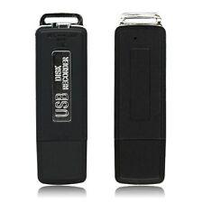 8GB Memory USB Disk Digital Audio Recording Voice Recorder Pen Spy Dictaphones